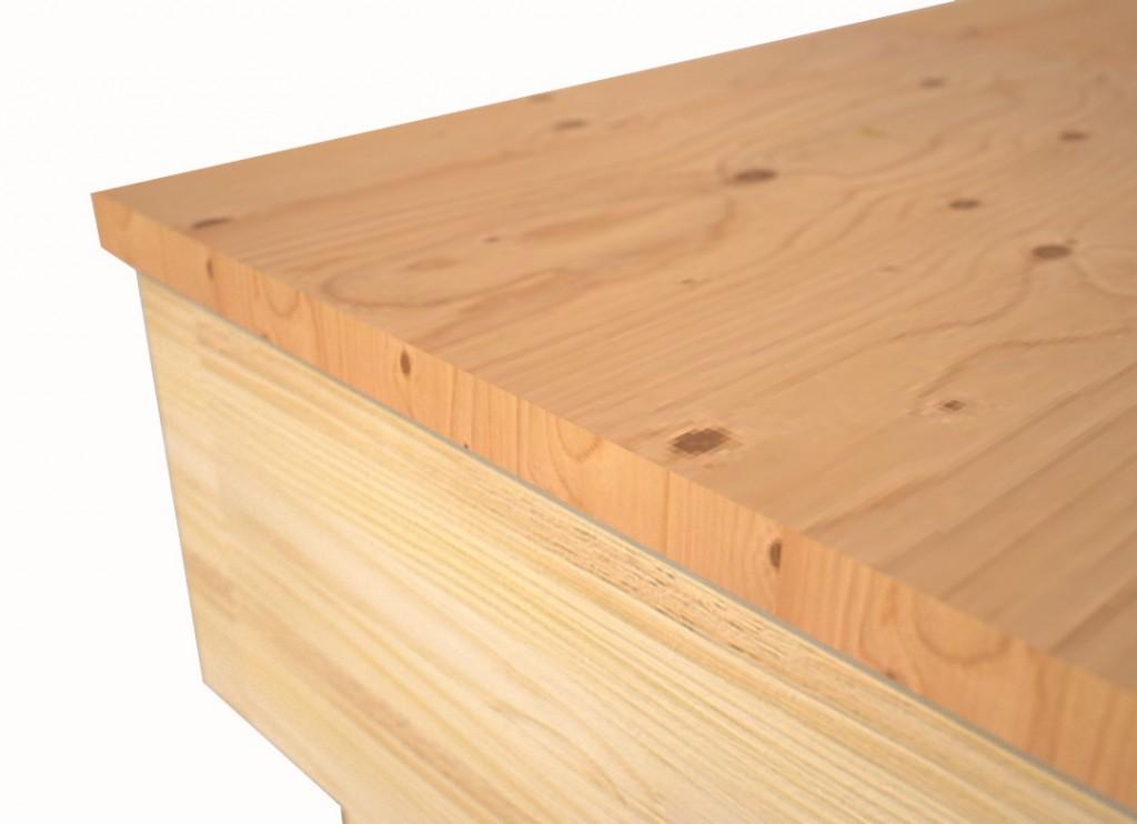 hard wood worktop