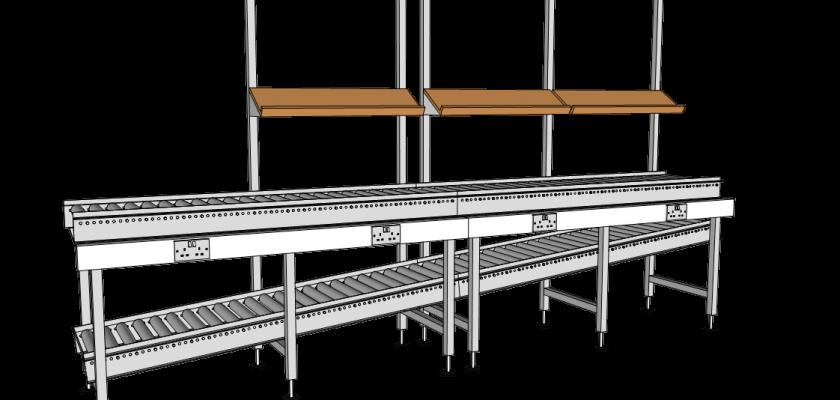 roller workstation plan