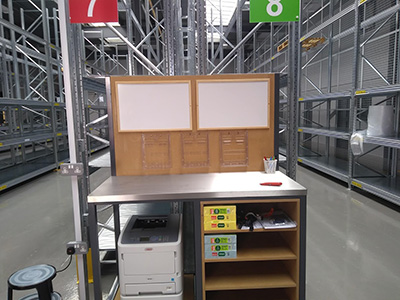 Bespoke team leader warehouse workbench