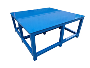 Extra heavy duty workbenches for loads up to 5000 Kg