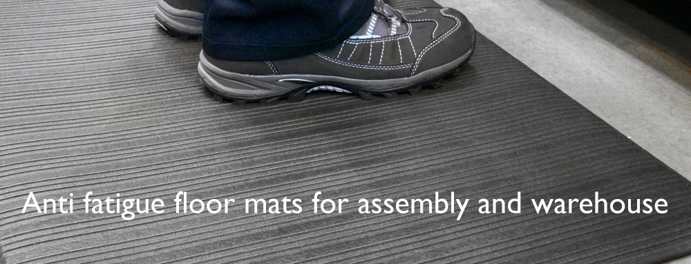Anti fatigue workstation floor mats
