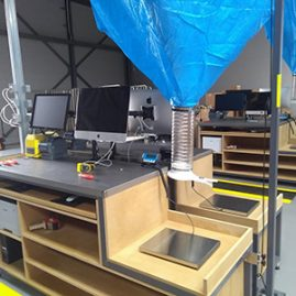 void fill packing workbench