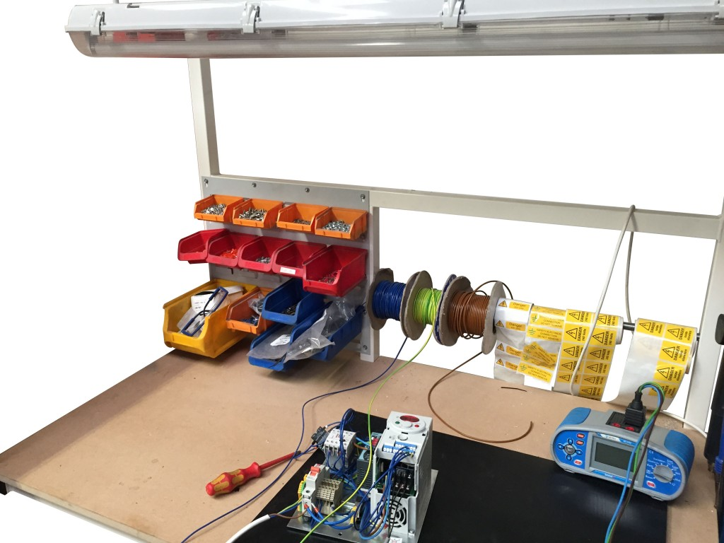 electrical assembly workstations