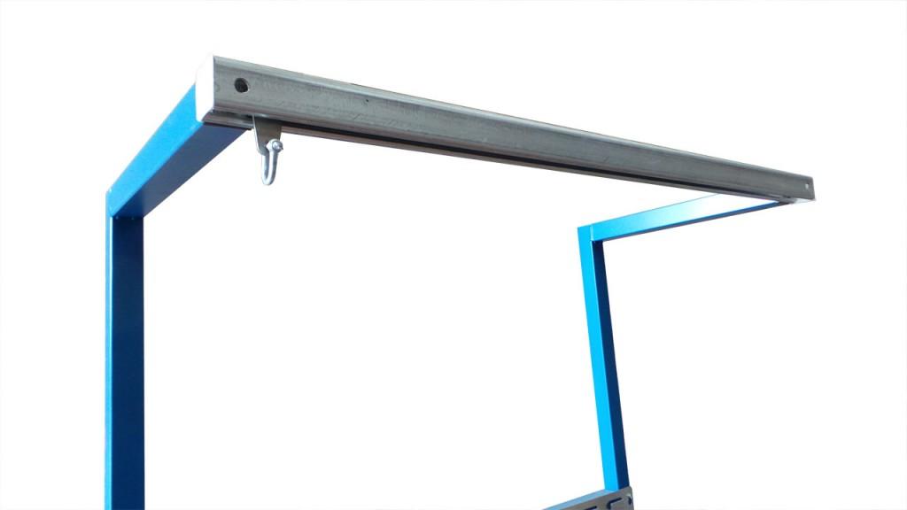 workbench hanging rail