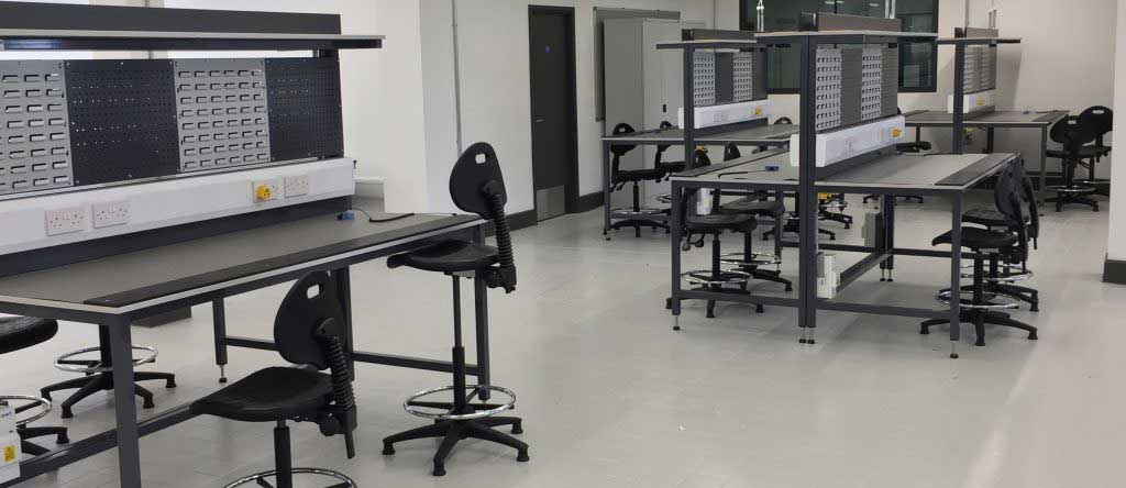 ESD workshop benches