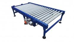 Pallet driven roller conveyor