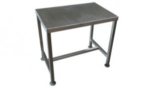 steel packing table