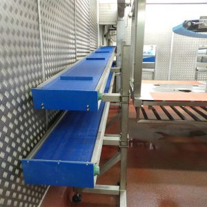 Modular conveyor 2 tier