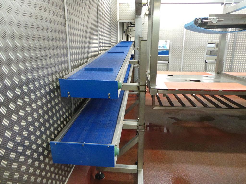 Modular conveyor 2 tier