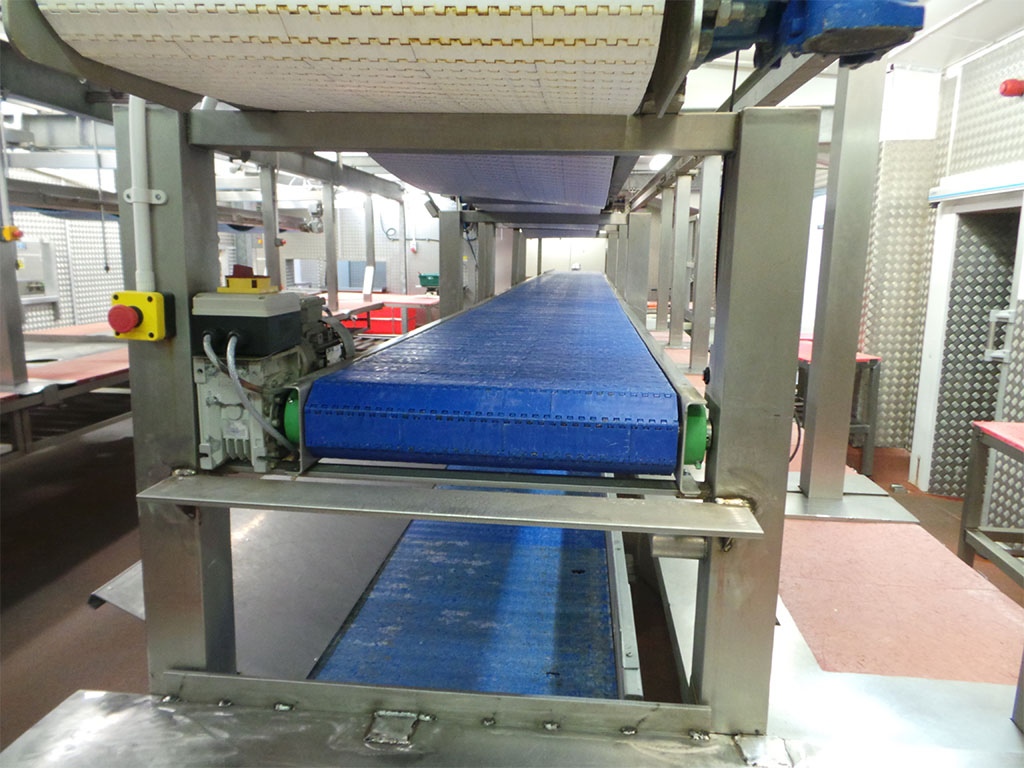 Modular conveyor 3 tier