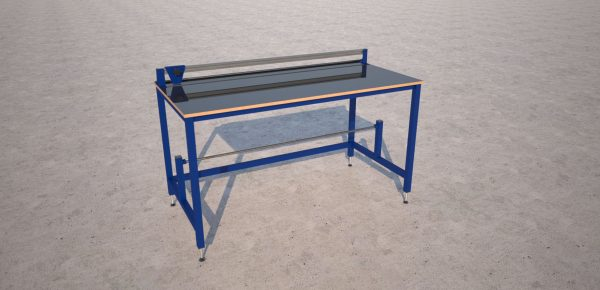 bench with cutter render
