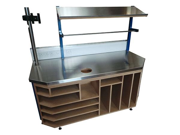 Bespoke manufactured heavy duty bench