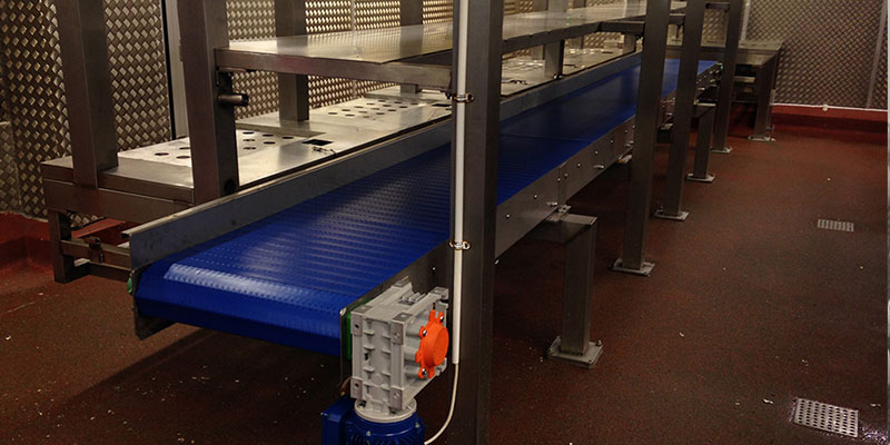 Heavy Duty Modular Conveyor