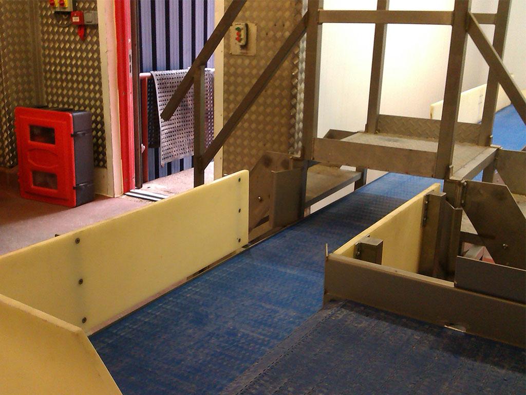 90 degree modular conveyor