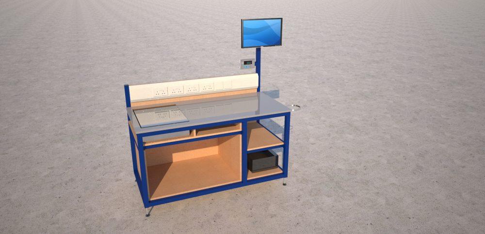 packing bench render