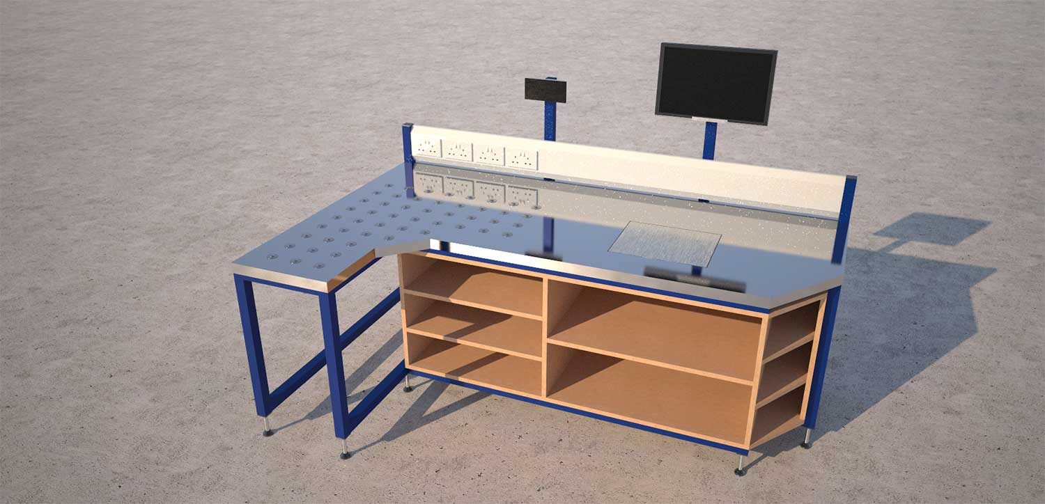 Save money and increase productivity with bespoke production workstations?