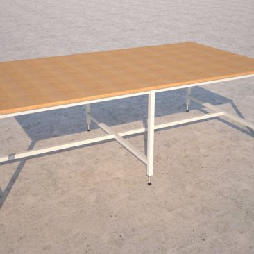 cutting table render