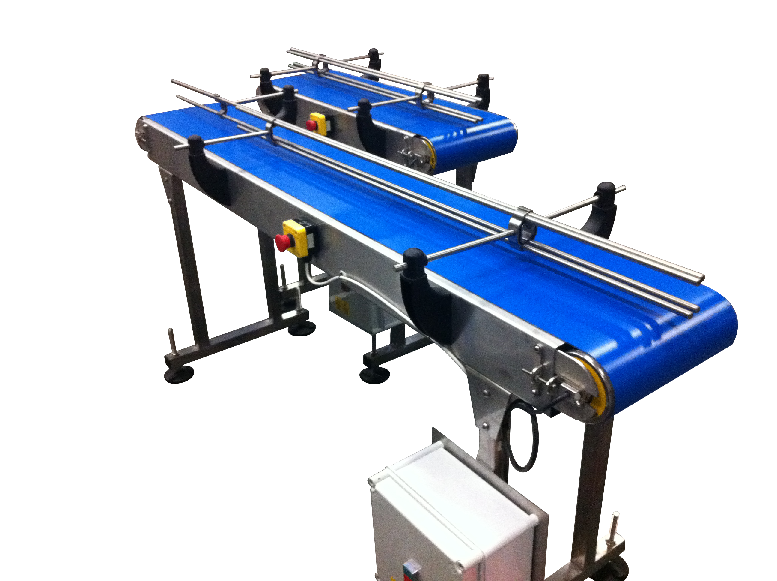 belt conveyors supplied by Spaceguard