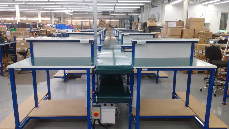 Belt conveyor repair line