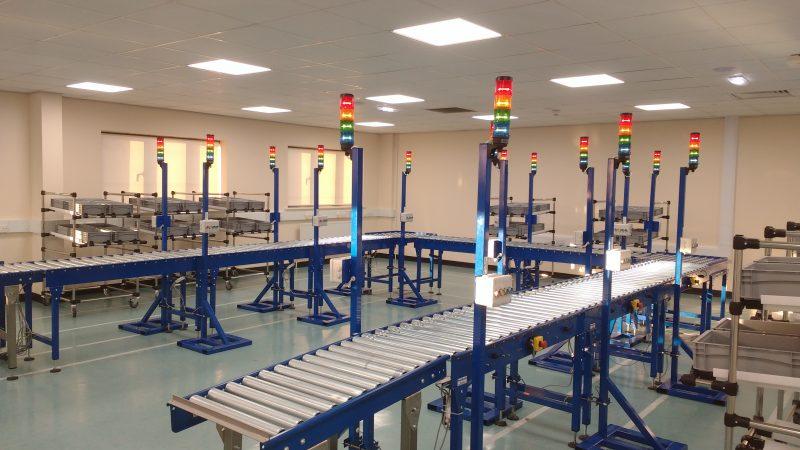 lean production conveyor cell