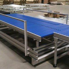 Transfer gravity conveyor
