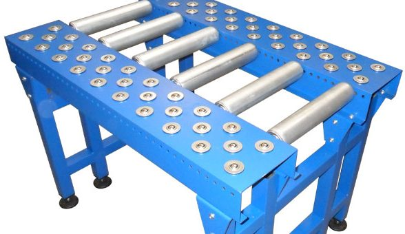 bespoke-gravity roller conveyor with ball table