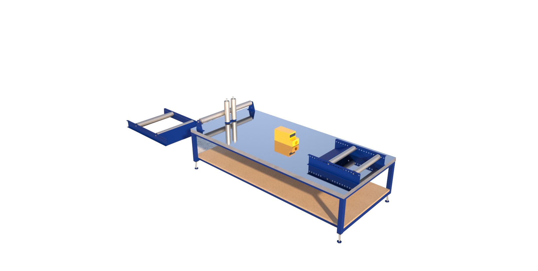 Cable drum rollers for uncoiling applications