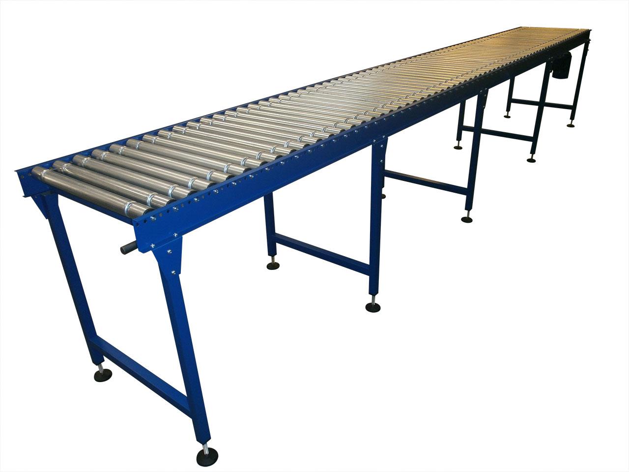 Lineshaft driven roller conveyor