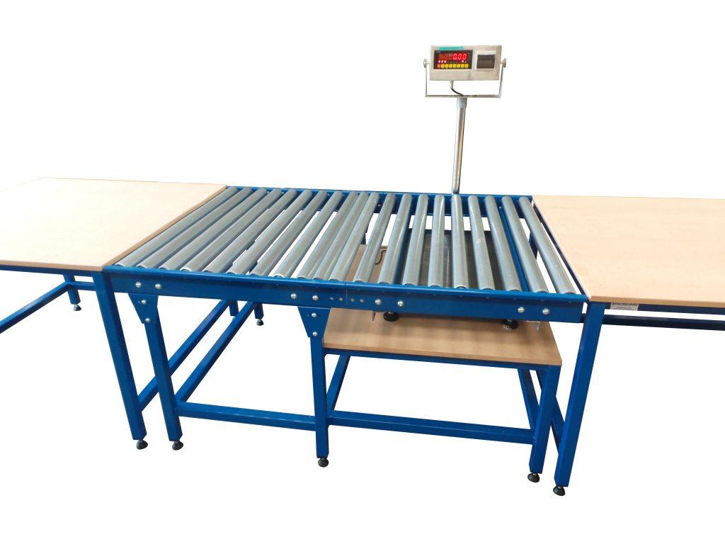 roller conveyor scale