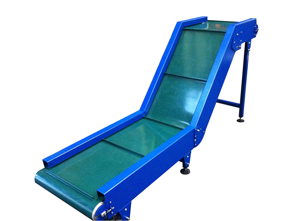 swan neck belt conveyor