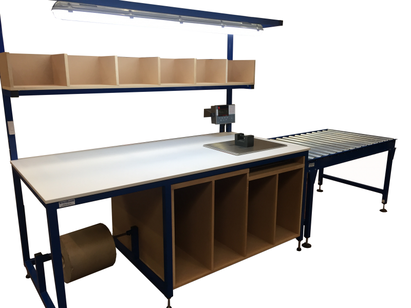 Bespoke packing bench