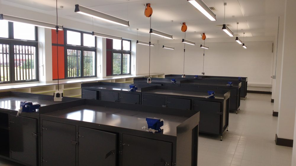 Engineering workshop benches