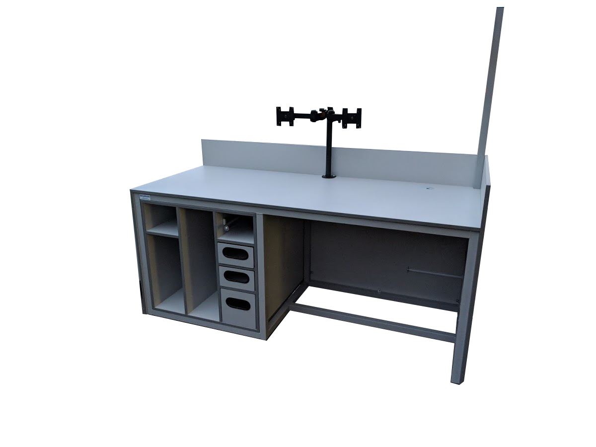 bespoke lab workbench