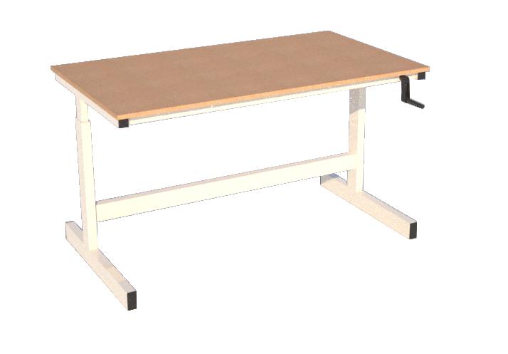 bespoke height adjustable workbenches