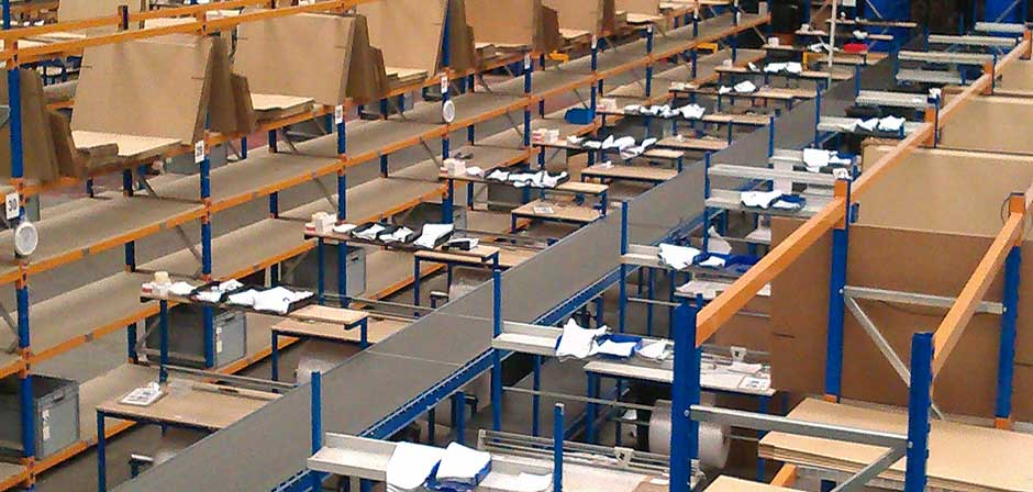optimising packing processes with custom workstations