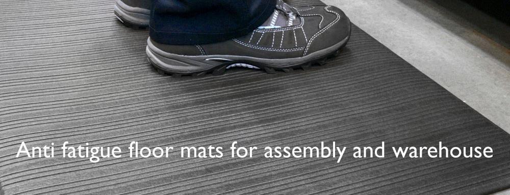 Anti fatigue mats