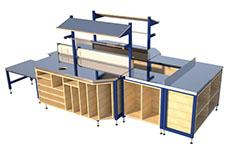 Bespoke industrial workbench
