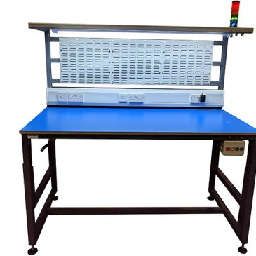 Height adjustable workbenches providing benefits for both employee & employer