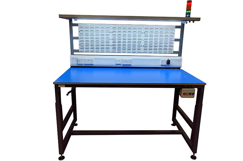 custom height adjustable workbenches