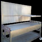 stainless steel heavy duty workbench