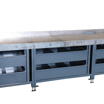 Bombproof workshop workbenches