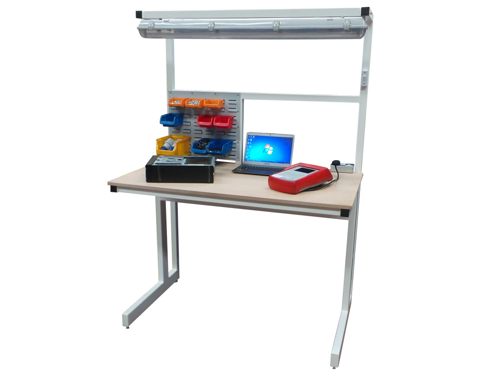 Cantilever electrical workbench