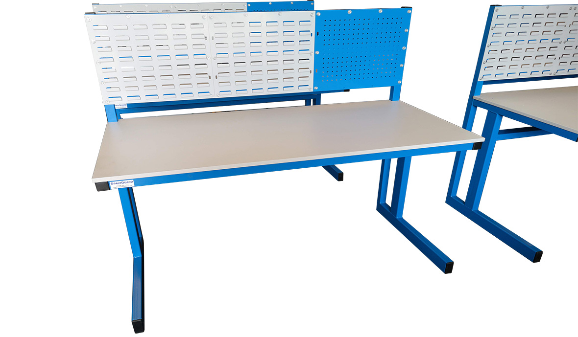 cantilever industrial workbench