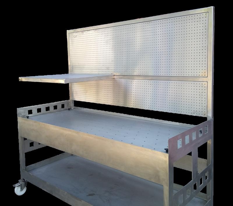 Bespoke Stainless Steel Workbench
