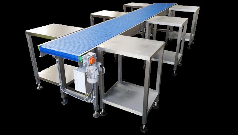 Food packing Stainless steel conveyors