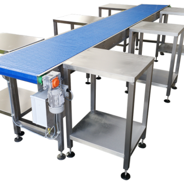 Food packing Stainless steel conveyors
