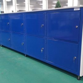Heavy duty locker bench