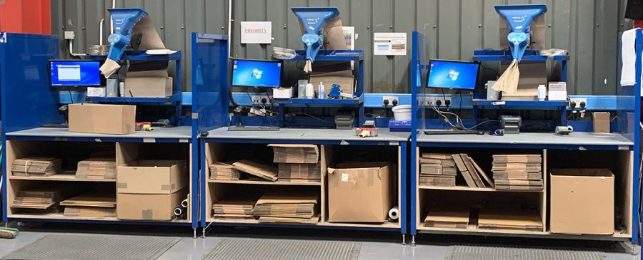 optimising packing processes with efficient workstations