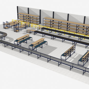 UK warehouse equipment manufacturing