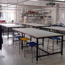 Classroom cutting table